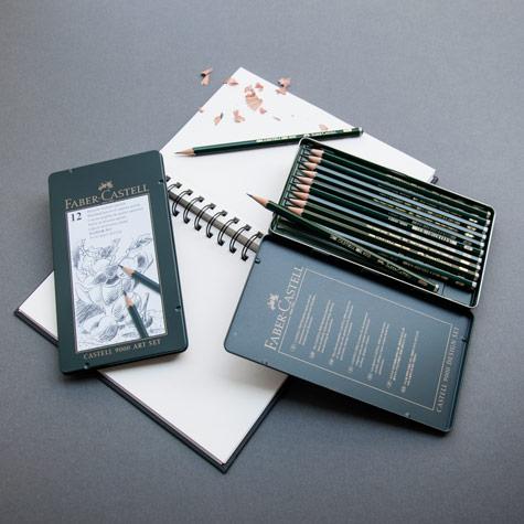 Zestawy Ołówków Faber-Castell 9000