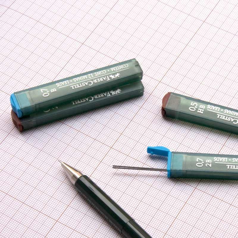 Wkłady Do Ołówków Automatycznych Faber-Castell Polymer