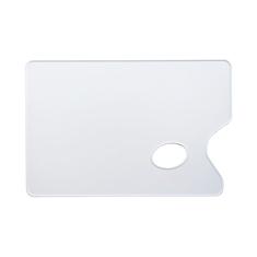 Paleta Plastikowa Prostokątna Gładka 19X29 cm Grubość 2mm 03587