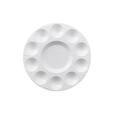 Paleta Plastikowa Okrągła 17,5 cm 10 Komór 192