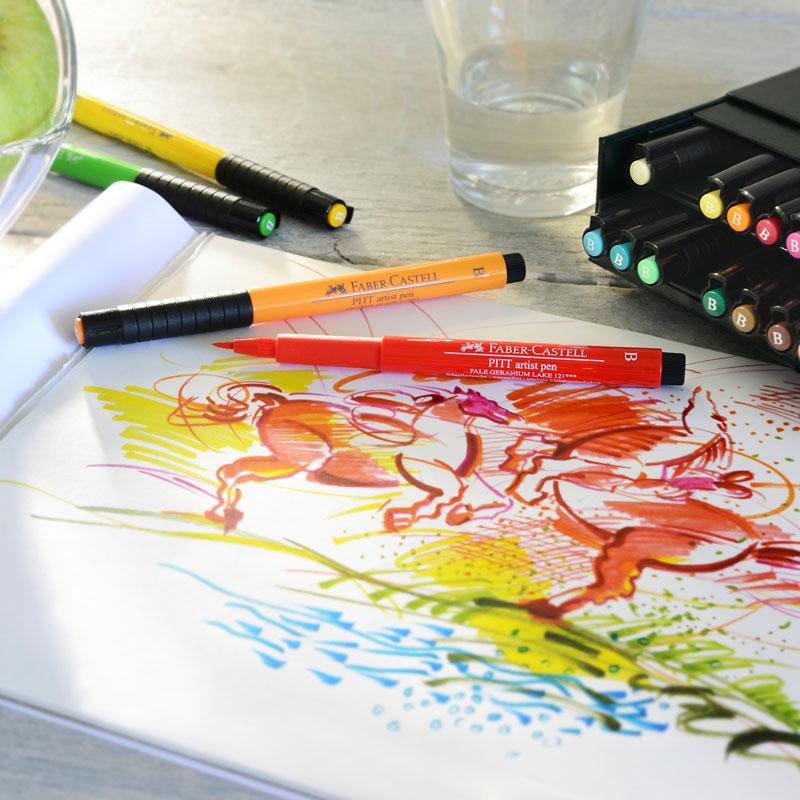 Pisaki Faber Castell Pitt Artist Pen