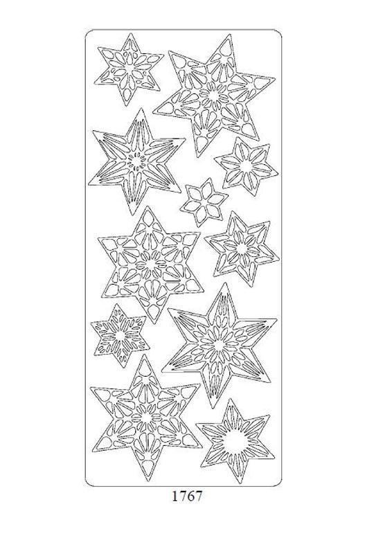 1767 Świąteczne Gwiazdki