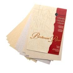 Blok Manuscript Parchment Paper Calligraphy