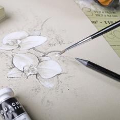 Blok Clairefontaine Paint On Multi Techniques Naturel 250 gsm