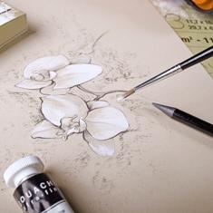 Blok Clairefontaine Paint On Multi-Techniques Naturel 250 gsm
