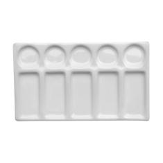 Paleta AMI Porcelanowa Prostokątna 11,0X19,5 cm 10 Komór 575221