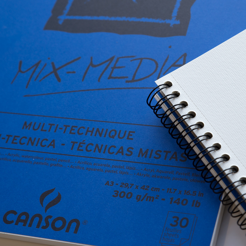 Blok Canson XL Mix Media 300 gsm