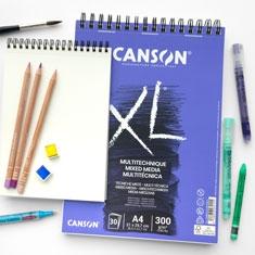 Blok Canson XL Mixed Media 300 gsm