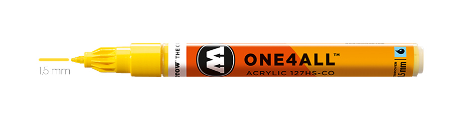 Markery Molotow One4All 127HS-CO 1,5 mm