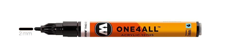 Markery Molotow One4All 127HS Round 2 mm