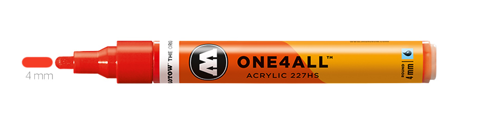 Markery Molotow One4All 227HS Round 4 mm