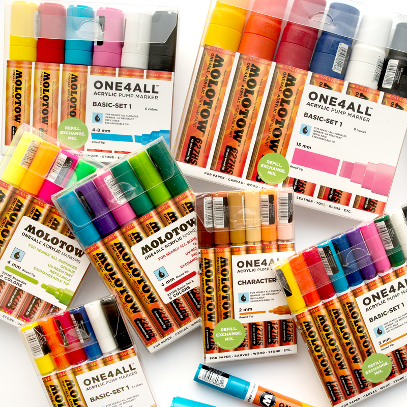 Molotow Markers One4All Zestawy