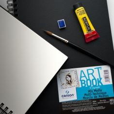 Szkicownik Do Akwareli Canson Art Book Mix Media 224 gsm