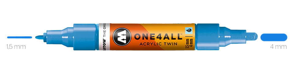 Marker Akrylowy Molotow Markers One4All Twin
