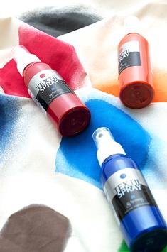 Farby do Tkanin w Rozpylaczu Schjerning Textil Spray