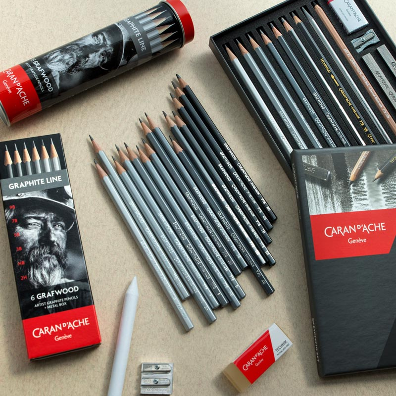 Ołówki Caran d'ache Grafwood