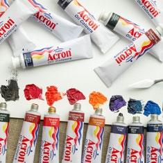 Farby Olejne Acron 20 ml Wyprzedaż