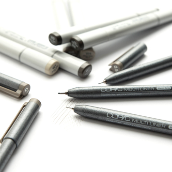 Copic Multiliner Warm Gray