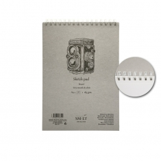Blok SMLT Sketch Pad Bristol Very Smooth & White 185 gsm