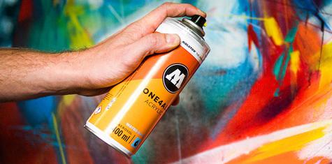 Farba Akrylowa w Sprayu Molotow One4All