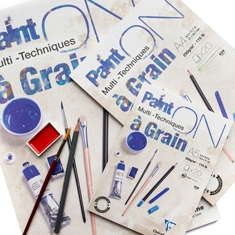 Blok Clairefontaine Paint On Multi Techniques A Grain 250 gsm