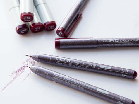 Copic Multiliner Wine