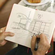 Szkicownik Moleskine Sketchbook 165 gsm
