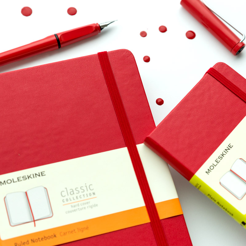 Notes Moleskine Scarlet Red