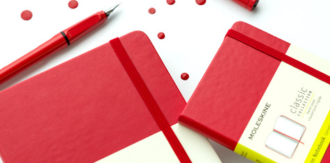 Notes Moleskine Scarlet Red