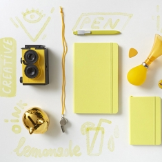 Notes Moleskine Citron