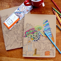 Moleskine Colouring Cover Cahiers
