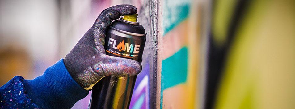 Farba w Sprayu Molotow Flame Orange 400 ml