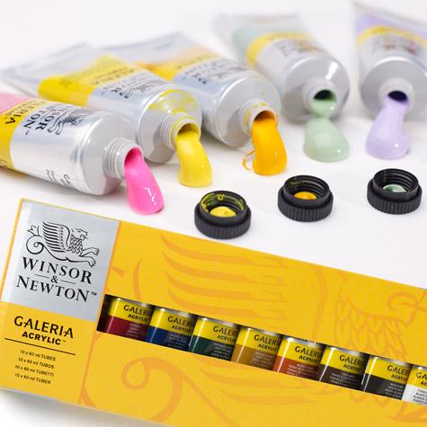 Farby Akrylowe Winsor & Newton Galeria Zestawy