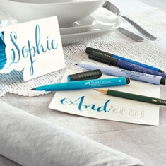 Pisaki do Kaligrafii Faber-Castell Pitt Artist Pen Hand Lettering