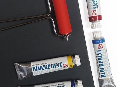 Farba do Linorytu Talens Blockprint