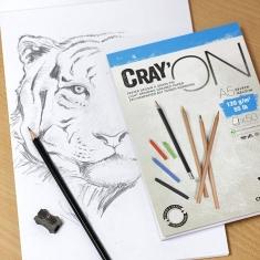 Bloki do Rysowania Clairefontaine Cray'On