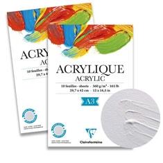 Papier Malarski Clairefontaine Acrylic 360 gsm