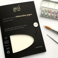 Blok do Akwareli SMLT Professional Quality Watercolour Paper 300 gsm