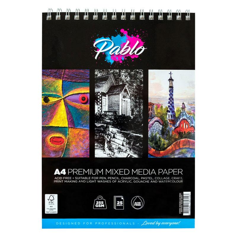 Blok Pablo Premium Mixed Media Paper 255 Gsm