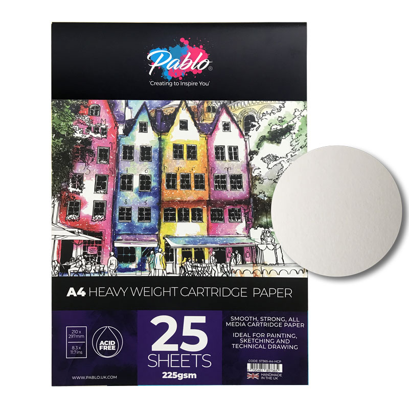 Blok Pablo Heavy Weight Cartridge Paper 225 gsm