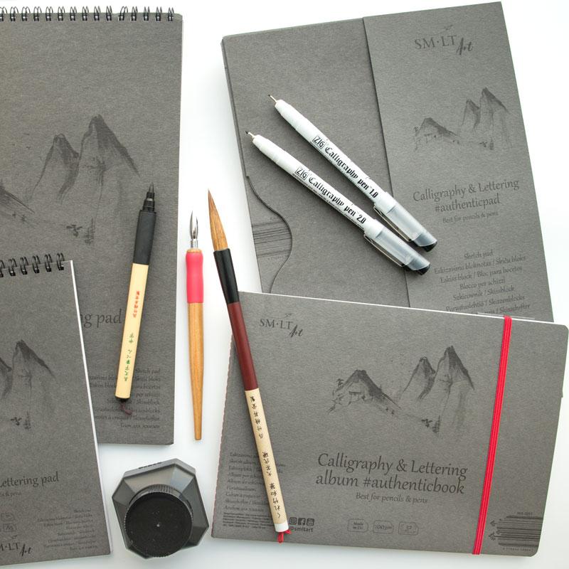 Papier do Kaligrafii SMLT Calligraphy & Lettering 100 gsm