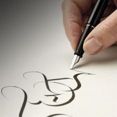 Pióro do Kaligrafii Manuscript