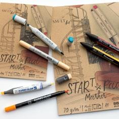 Papier do Markerów SMLT Start Pad Marker 70 gsm