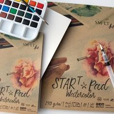 Papier do Akwareli SMLT Start Pad Watercolor 240 gsm
