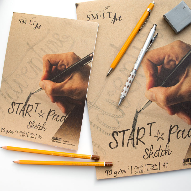 Blok Szkicowy SMLT Start Pad Sketch 90 gsm