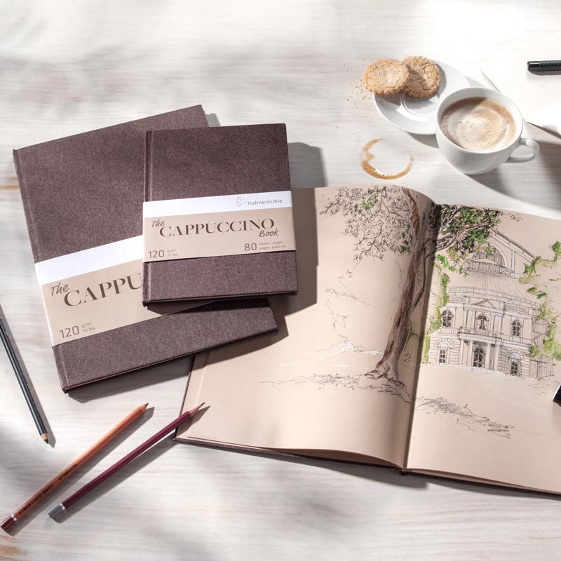 Szkicownik Hahnemühle Cappuccino Book 120 gsm