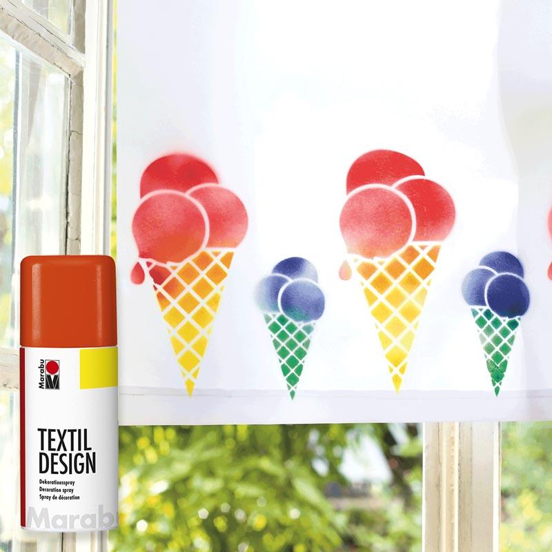 Farby do Tkanin w Sprayu Marabu Textil Design