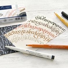 Pisaki do Kaligrafii Faber-Castell Pitt Artist Pen Calligraphy