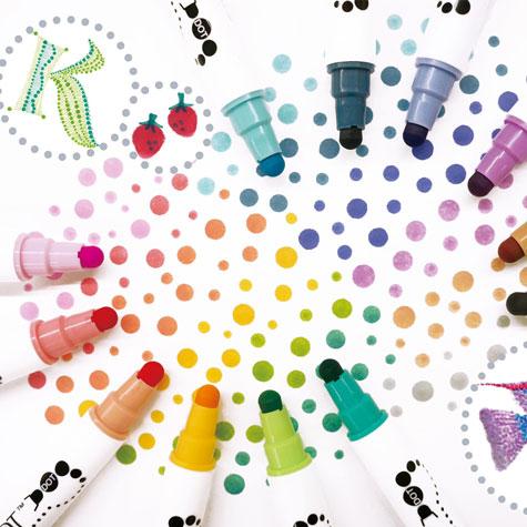 Pisaki do Kaligrafii Kuretake Clean Color Dot