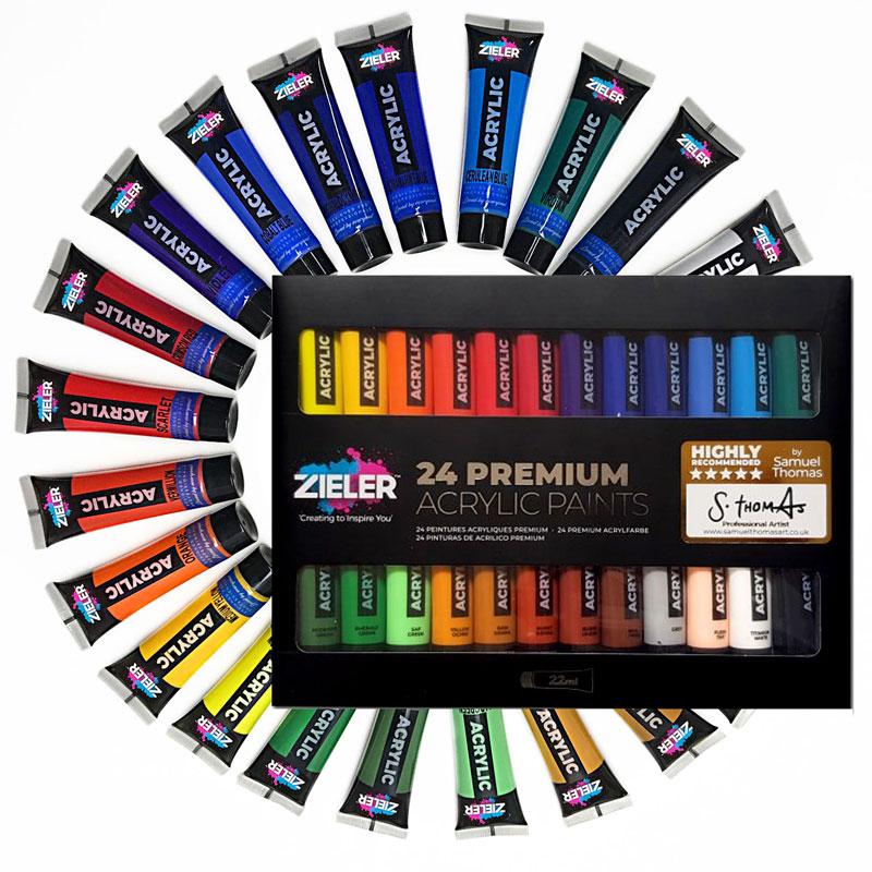 Farby Akrylowe Zieler